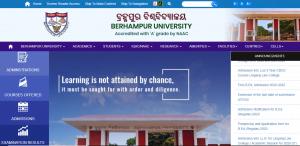 Berhampur University, Ganjam 2021