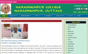 Nursinghpur Collge Recruitment